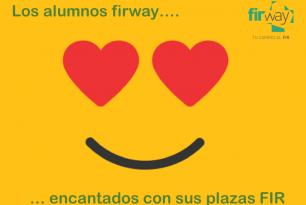 Los alumnos firway encantados con el destino de sus plazas FIR