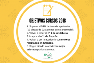 Objetivos cursos 2018