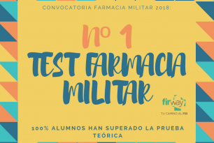 Nº1 TEST FARMACIA MILITAR 2018