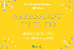 ¡Los alumnos FIRWAY arrasan en el FIR 2018!