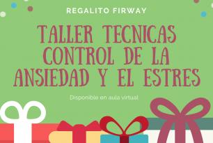 TALLER DE TÉCNICAS PARA CONTROL DE LA ANSIEDAD